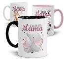 Tasse mit Tiermotiv - Mama ich liebe Dich