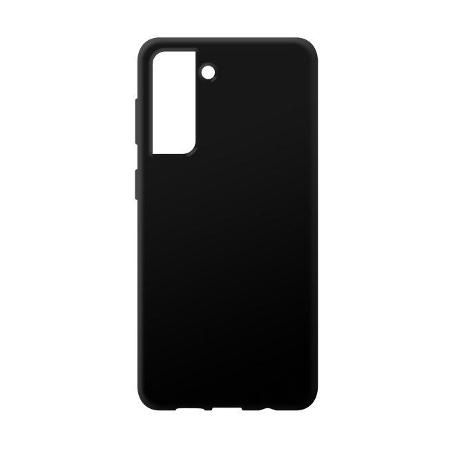Bedruckte Handyhülle für Samsung Galaxy S21 - Silikoncase Schwarz
