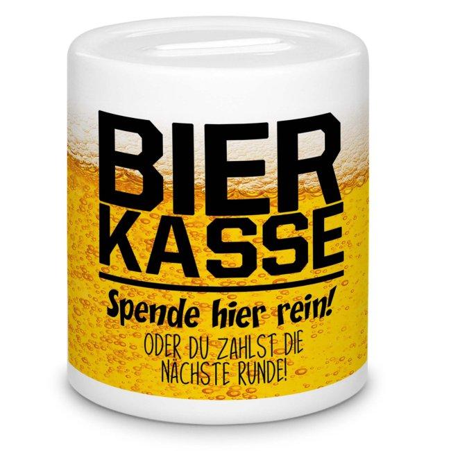 Spardose - Bierkasse, Spende sonst nächste Runde