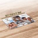 Foto-Puzzle mit drei Fotos und Namen - Ich liebe dich -...