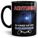 Polizei Tasse - Achtung! Blaulichtmileu