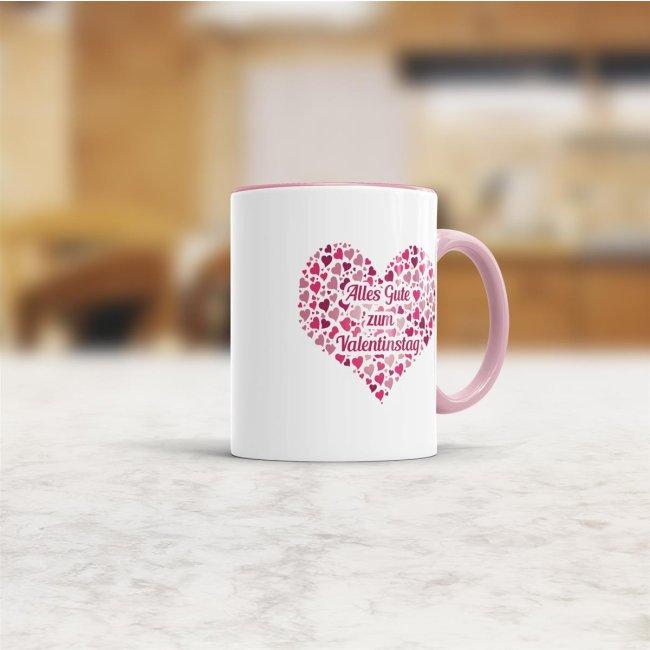 Tasse Alles Gute zum Valentinstag