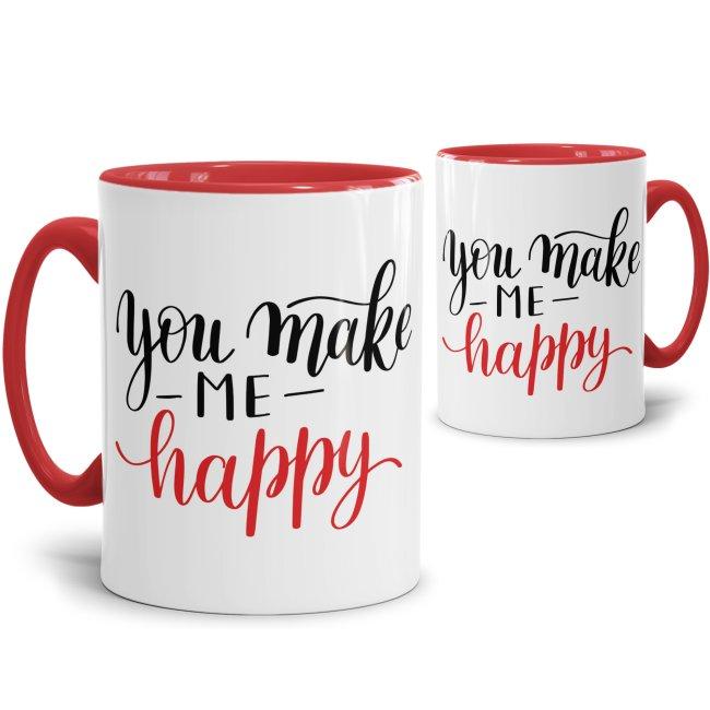 Tasse You Make Me Happy