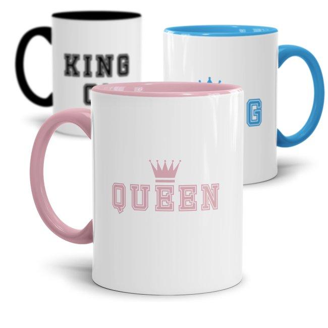 Tassenset King und Queen