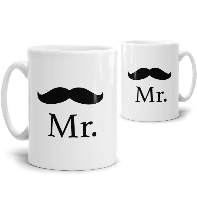 Tasse für Ihn Mr. mit Schnurrbart