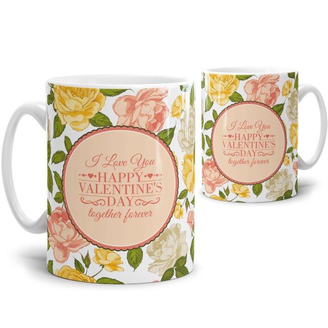 Tasse Happy Valentines Day