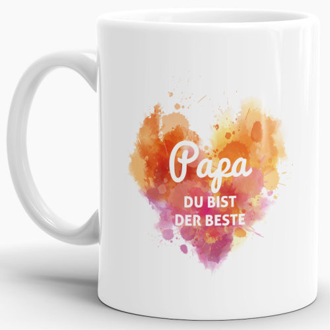 Tasse Du bist der Beste Papa