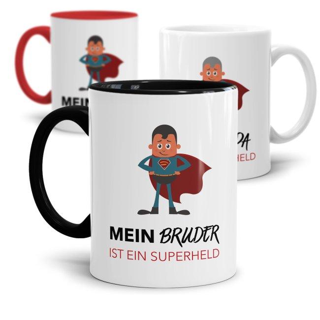 Tasse Mein Vater/ Bruder/ Opa  ist ein Superheld