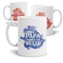 Tasse Danke Mama /Papa /Oma/ Opa - Du bist der/ die Beste