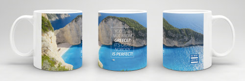 Du bist Grieche - Tasse - Not from Greece?