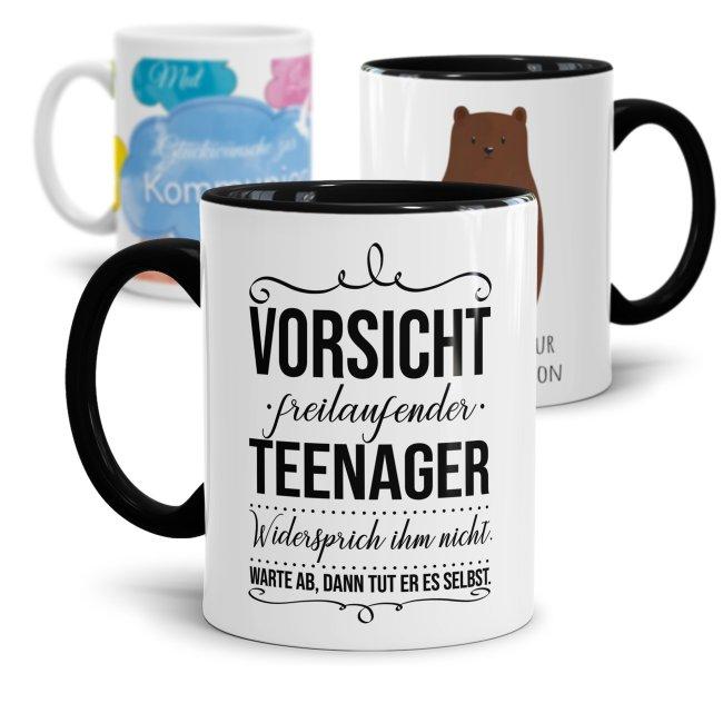Tassen zur Jugendweihe, Konfirmation oder Kommunion