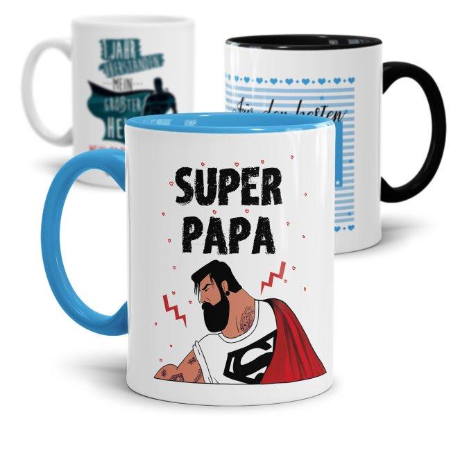 Superheldentasse zum  Vatertag