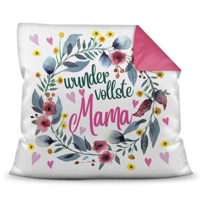 Kissen mit Spruch für Mama - Wundervollste Mama