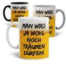 Lustige Tasse mit Spruch für Männer -...