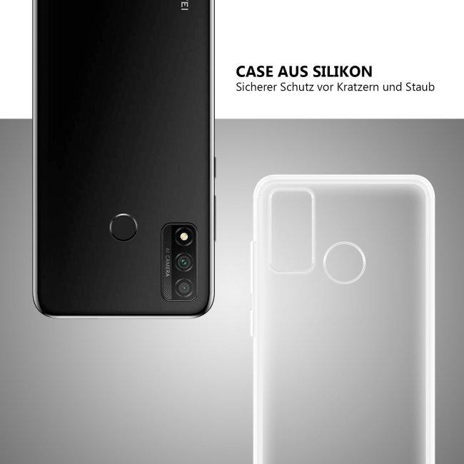 Bedruckte Handyhülle für Huawei P Smart (2020) - Silikoncase Transparent