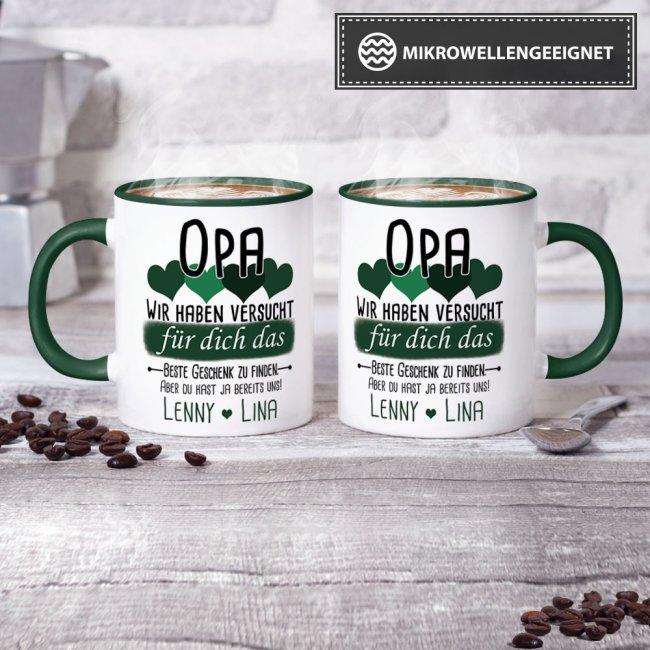 Tassen - Bestes Geschenk für IHN von WUNSCHNAME - Personalisiert